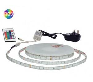 5 Metre Flexi LED Strip & RF Remote Controller