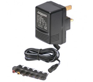 GS74 4.5W 9V 500mA Unregulated Linear UK Plugtop from Power Supplies Online