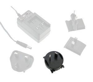 Australian AC Plug for GE Series Interchangeable Plugtop Adapters from Meanwell