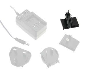 EU AC Plug for GE Series Interchangeable Plugtop Adapters from Meanwell