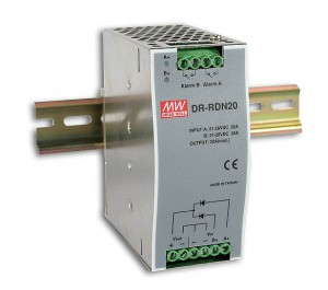 DR-RDN20 30V 20A Redundant Industrial Din Rail Power Supply from Power Supplies Online