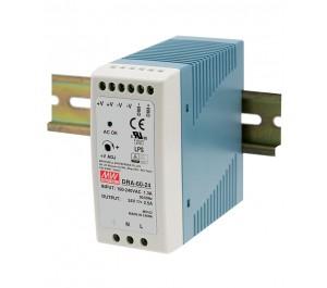 DRA-60-24 60W 24V 2.5A Din Rail Power Supply