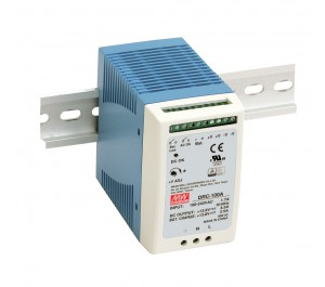 DRC-100B 96.6W Din Rail Power Supply with battery Charger (UPS Function)