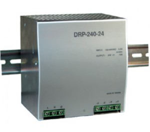 Mean Well DRP-240-24 240W 24V 10A Single Output AC-DC DIN RAIL Power Supply from Power Supplies Online