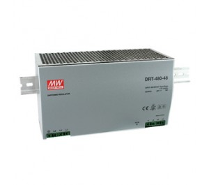 DRT-480-48 Three Phase Input DIN Rail Power Supply from Power Supplies Online