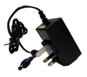 15W 15V 1A UK Plugtop Adapter with 2.5x5.5x13mm DC Connector from Power Supplies Online