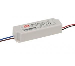 LPC-20-350 16.8W 9 - 48V 350mA LED Lighting Power Supply