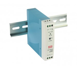 Mean Well MDR-20-5 15W 5V 3A Single Output AC-DC DIN RAIL Power Supply from Power Supplies Online
