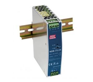 NDR-75-12 75.6W 12V 6.3A Industrial DIN RAIL Power Supply