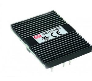NSD15-12S12 15W 12V 1.25A DC-DC Regulated Power Supply