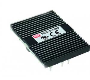 NSD15-12S3 12.375W 3.3V 3.75A DC-DC Regulated Power Supply