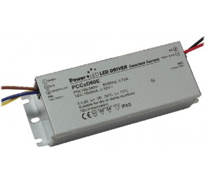 PCCxD60E 60W IP65 Constant Current LED Lighting Power Supply