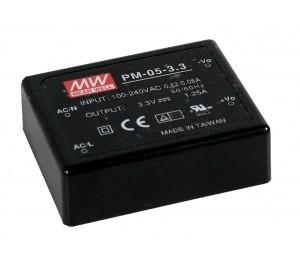 PM-05-12 5.04W 12V 0.42A Encapsulated Power Supply