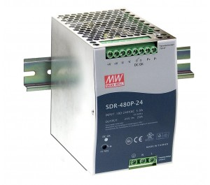 SDR-480P-24 480W 24V 20A Industrial DIN RAIL Power Supply