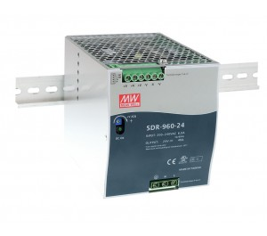 SDR-960-24 960W 24V 40A Industrial DIN RAIL Power Supply with PFC Function