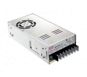 SP-240-15 240W 15V 16A Enclosed Power Supply with PFC Function from Power Supplies Online