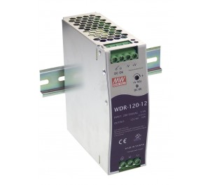 WDR-120-12 120W 12V 10A Industrial DIN RAIL Power Supply