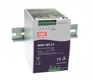 WDR-480-24 480W 24V 20A Industrial DIN RAIL Power Supply