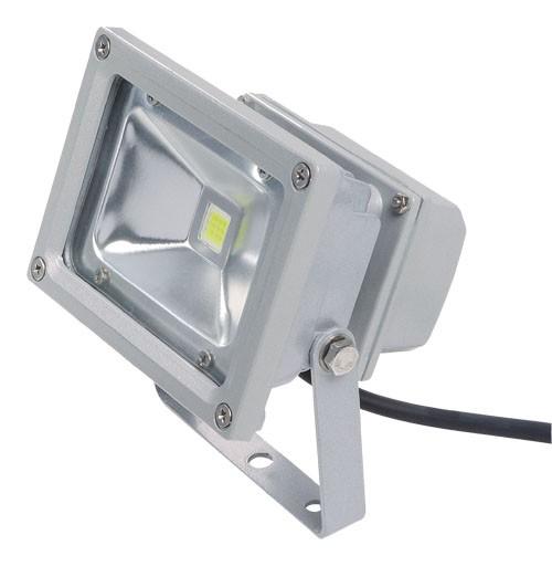 Lighting Supplies Online: 10W LED Floodlight - Cool White - PLL-FL10-CW