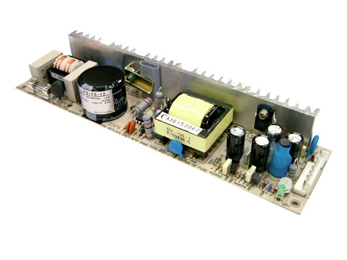 LPS-75-3.3 is a 49.5W 3.3V 15A Single Output Open Frame Power Supply ...