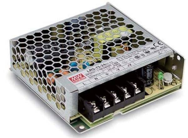 LRS-75-12 72W 12V 6A Single Output Enclosed Power Supply