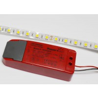 High Powered IP65 Rated Cool White (6000K) Energy Saving LED Flexi striplight with LED Driver