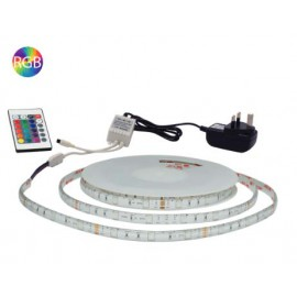 5 Metre Flexi LED Strip & RF Remote Controller