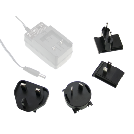 AC Plug Set for GE Series Interchangeable Plugtop Adapters from Meanwell