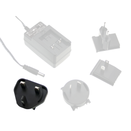 UK AC Plug for GE Series Interchangeable Plugtop Adapters from Meanwell