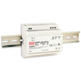 Mean Wel DR-100-12 90W 12V 7.5A  Single Output AC-DC DIN RAIL Power Supply from Power Supplies Online