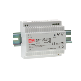 Mean Well DR-100-15 97.5W 15V 6.5A Single Output AC-DC DIN RAIL Power Supply from Power Supplies Online