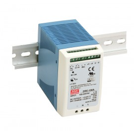 DRC-100A 96.6W Din Rail Power Supply with battery Charger (UPS Function)