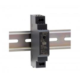 HDR-15-12 12W 5V 2.4A Ultra Slim Din Rail Power Supply