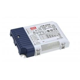 LCM-40DA 42W 2 ~ 100V 350 ~ 1050mA LED Lighting Power Supply