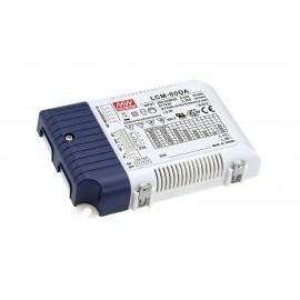 LCM-60DA 60.3W 2 ~ 90V 500 ~ 1400mA  LED Lighting Power Supply