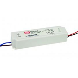 LPV-60-5 40W 5V  8A LED Lighting Power Supply