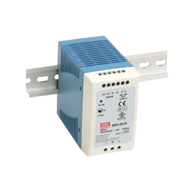 Mean Well MDR-100-24 96W 24V 4A Single Output AC-DC DIN RAIL Power Supply from Power Supplies Online