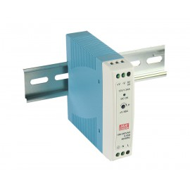 Mean Well MDR-20-12 20W 12V 1.67A Single Output AC-DC DIN RAIL Power Supply from Power Supplies Online
