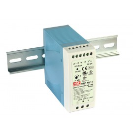Mean Well MDR-60-24  60W 24V 2.5A Single Output AC-DC DIN RAIL Power Supply from Power Supplies Online