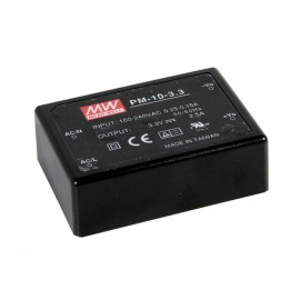 PM-10-3.3 8.25W 3.3V 2.5A Encapsulated Power Supply