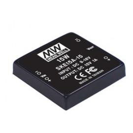 SKE15B-15 15W 15V 100 ~ 1000mA Converter